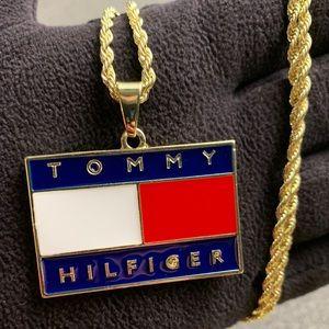Other - Gold Tommy Hilfiger Pendant